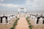 Ultimate privacy for you Stuart Beach Wedding by Wedding Bells and SeaShells