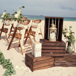 Crates with Decor